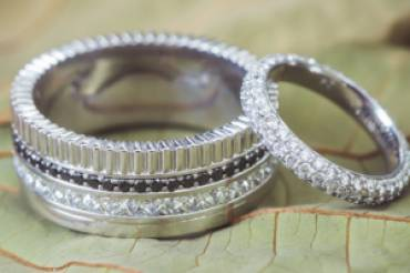 silver jewels eternity bands