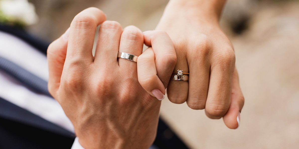 His and Hers Wedding Rings How To Make It Work