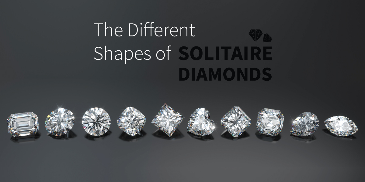 The Different Shapes of Solitaire Diamonds